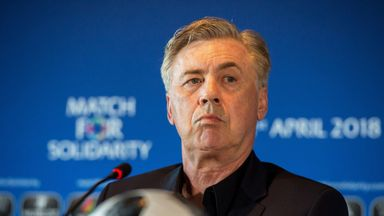 Carlo Ancelotti has been offered the chance to become head coach of Italy