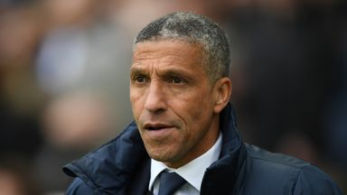 fifa live scores - Remaining games 'very big' for Brighton's season, says Chris Hughton
