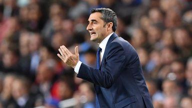 fifa live scores - Ernesto Valverde says Luis Enrique deserves credit for Barcelona's La Liga unbeaten record