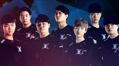 The Kingzone DragonX roster (credit: OnGameNet)