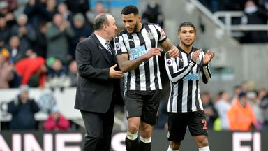 fifa live scores - Newcastle boss Rafael Benitez says 'happy' Jamaal Lascelles is ignoring transfer speculation