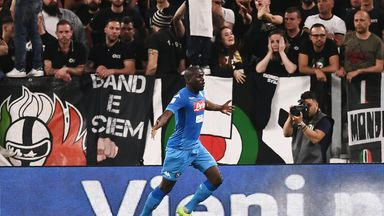 Kalidou Koulibaly scored the winning goal for Napoli on Sunday