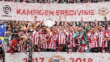 fifa live scores - PSV beat nine-man Ajax to clinch Eredivisie title