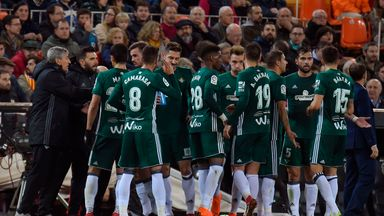fifa live scores - Girona 0-1 Real Betis: Loren strengthens Betis top-five bid