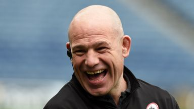 Richard Cockerill has Edinburgh on course to reach the PRO14 play-offs for the first time