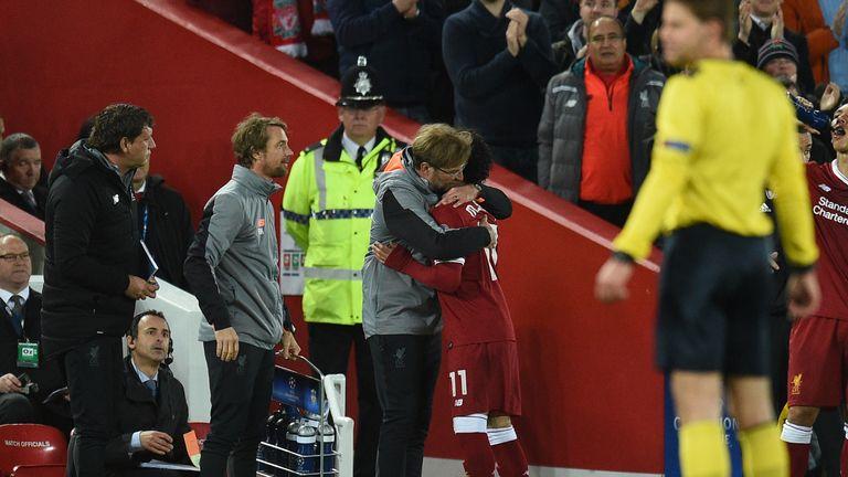 Jurgen Klopp hailed Mo Salah as a genius after the Egyptian's virtuoso display against Roma