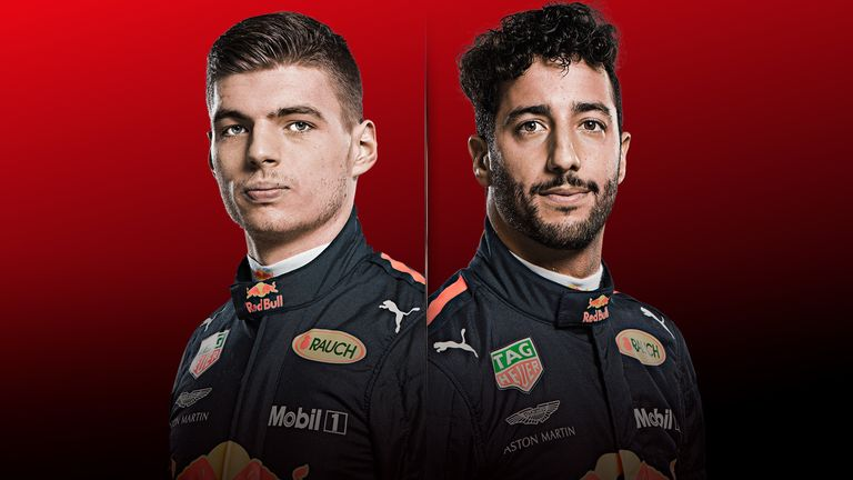 Who is the better driver - Verstappen or Ricciardo