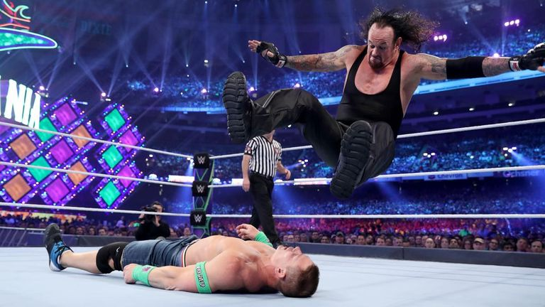 The Undertaker looked in great shape in his win over John Cena