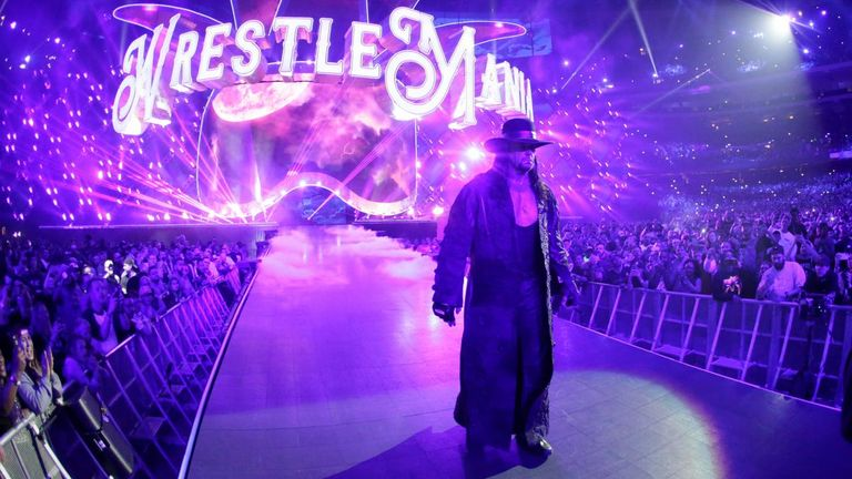 The Undertaker made his return at WrestleMania 34