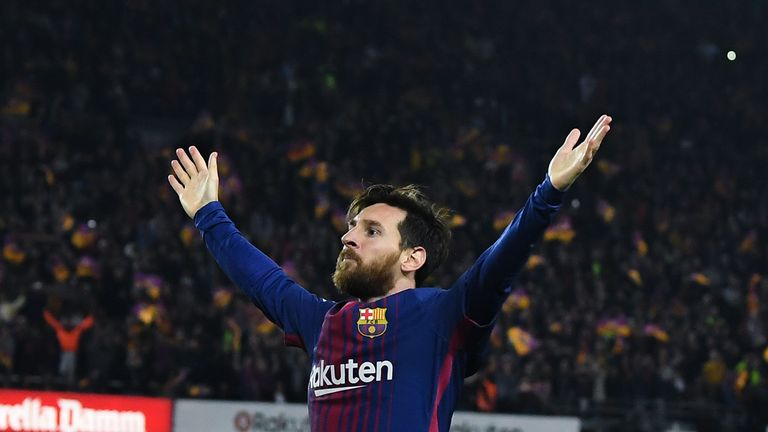 Lionel Messi looks unlikely to play for any European side other than Barcelona