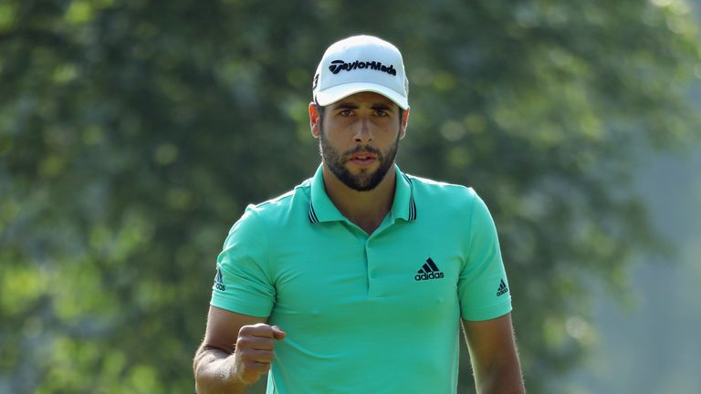 Otaegui bogeyed his opening hole in the final