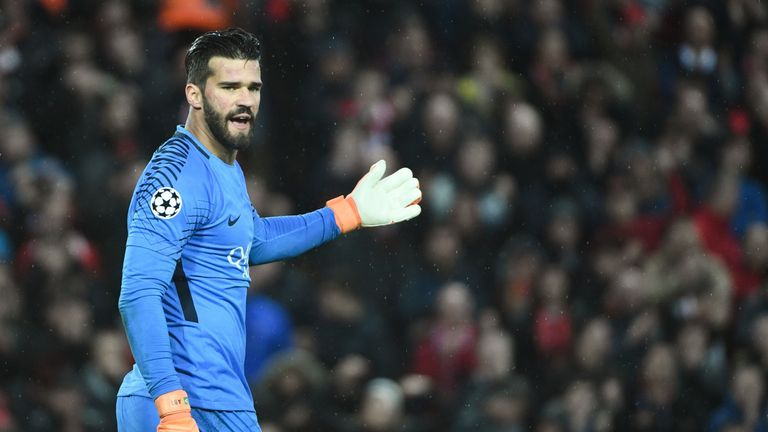 Chelsea have been linked with a move for Alisson
