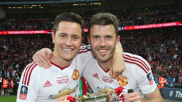 Michael Carrick won 12 major trophies during his time at Man Utd.