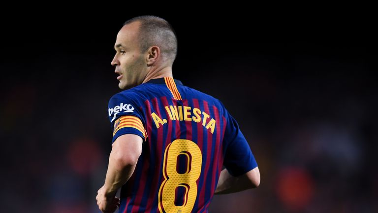Andres Iniesta will leave Barcelona this summer after 22 years at the club