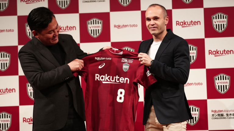 Andres Iniesta could pave the way for more overseas stars to Japan