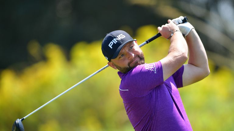 Andy Sullivan produced his best European Tour finish since 2016