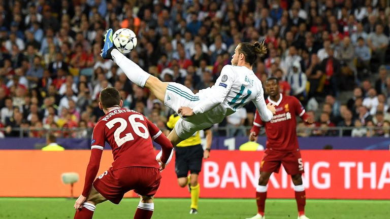 Bale came off the bench and scored one of the great Champions League goals