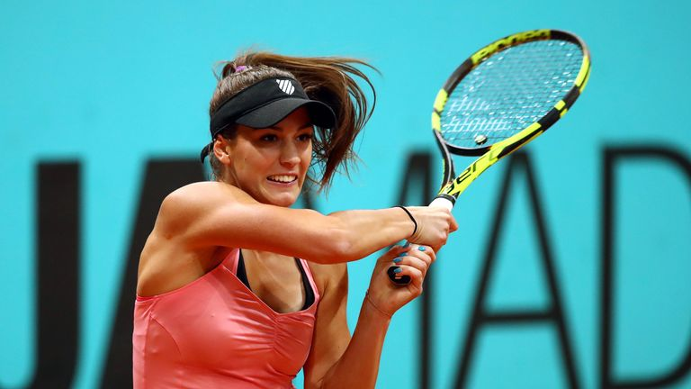 Johanna Konta loses out in Madrid second round