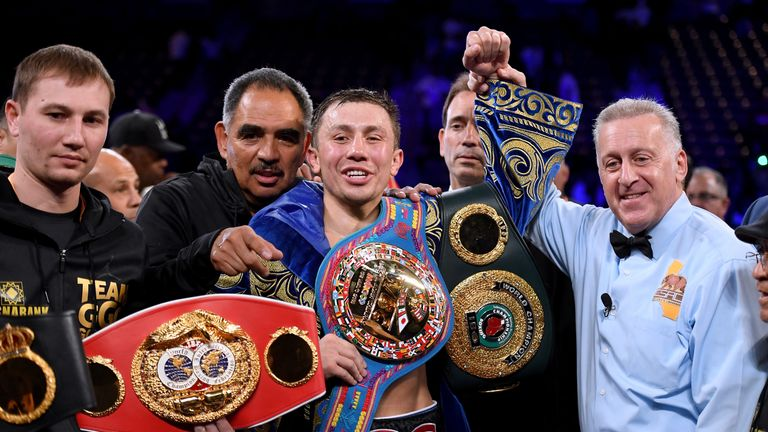 Gennady Golovkin is among a crop of unified professional champions