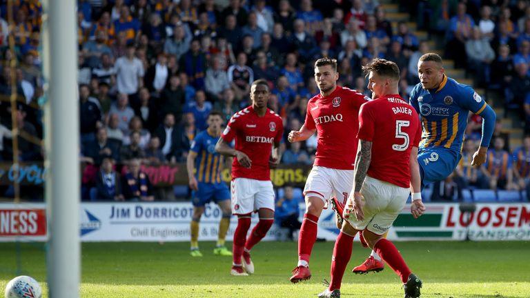 Carlton Morris struck against Charlton in the semi-final tie