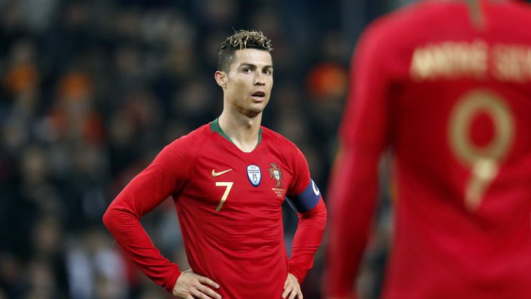 Jose Mourinho believes Cristiano Ronaldo gives Portugal a chance of winning the World Cup