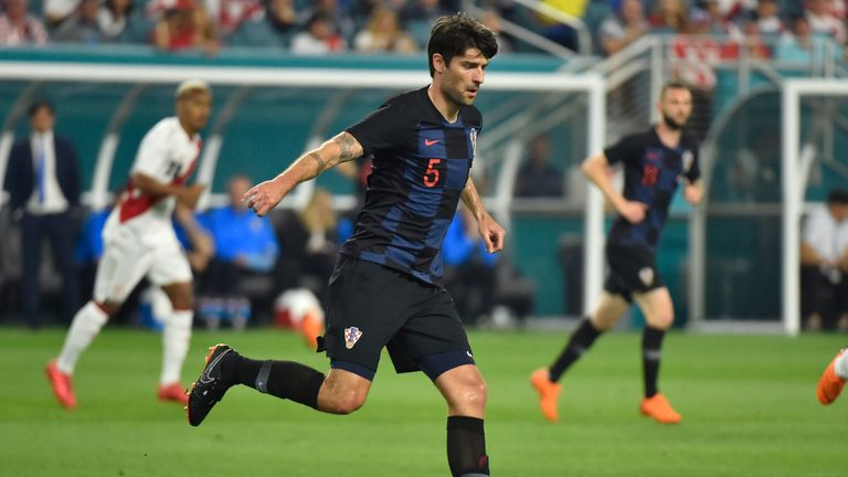 Vedran Corluka says Croatia have not performed well at the World Cup since 1998