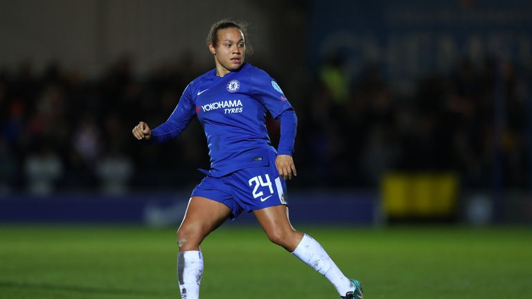 Drew Spence put Chelsea Ladies on their way to the WSL title