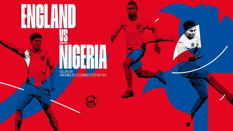 England take on Nigeria in an international friendly at Wembley on Saturday