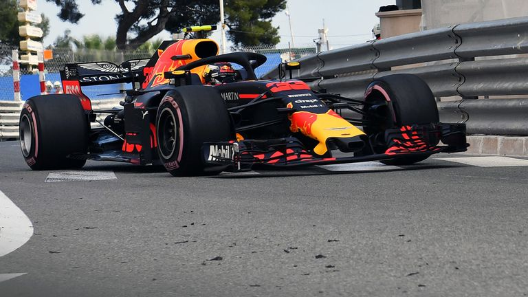 Max Verstappen crashes out of Monaco Grand Prix practice