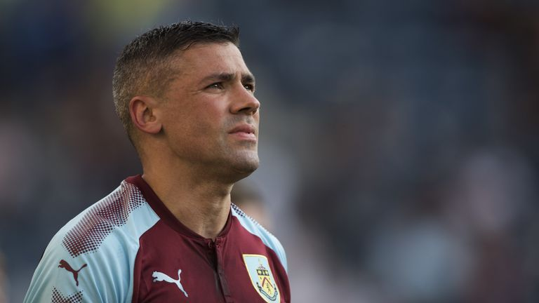 Walters made five appearances in his debut season for Burnley