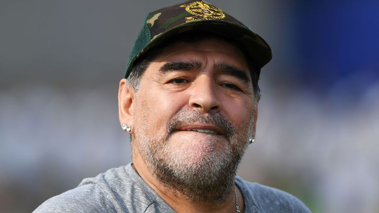 Diego Maradona has been named as the new chairman for Belarusian side Dinamo Brest