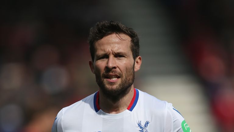 Yohan Cabaye has been offered a new deal at Crystal Palace