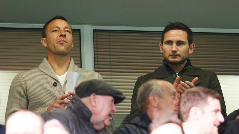 Frank Lampard has been appointed as the new Derby manager
