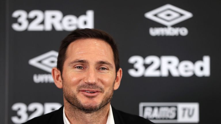 Shay Given, Chris Jones and Stephen Rands will join Frank Lampard at Derby