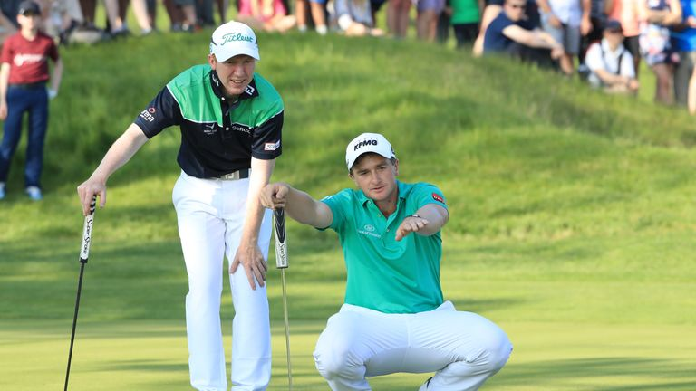 Ireland's Paul Dunne and Gavin Moynihan win GolfSixes title