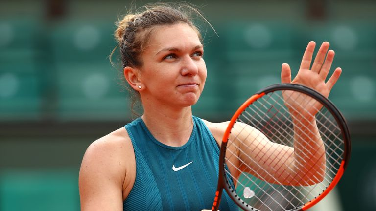 Simona Halep has overcome some difficult opponents to reach the final