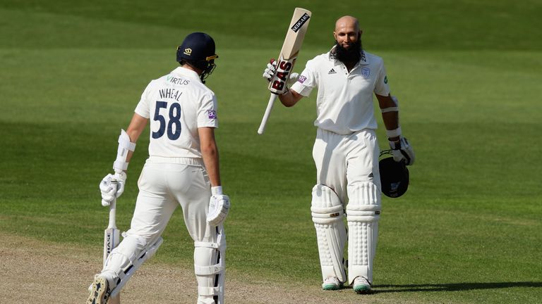 Hashim Amla's century came in a losing cause for Hampshire