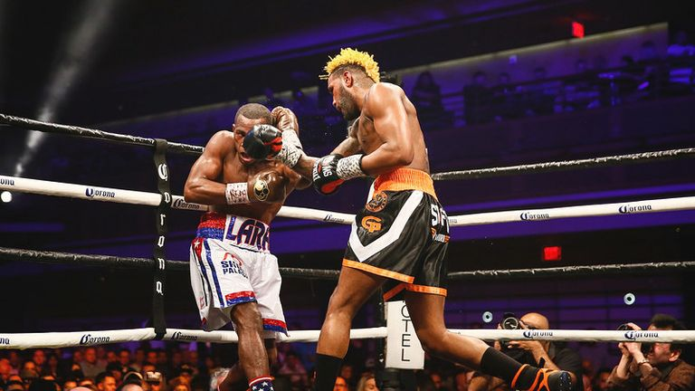 Hurd became a unified champion with a points win over Lara in April