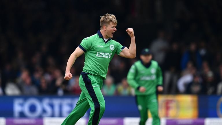 Barry McCarthy misses Ireland's Test against Pakistan with a shoulder injury