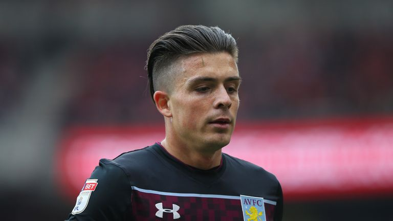 Tottenham are the latest club linked with Aston Villa's Jack Grealish