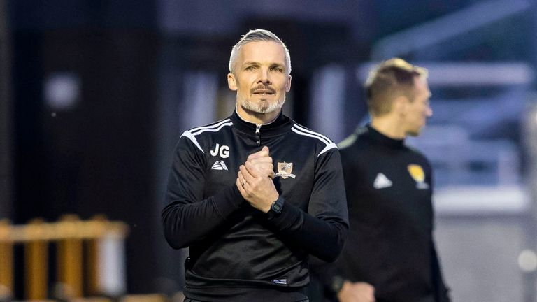Alloa manager Jim Goodwin has turned down chance to speak to St Mirren