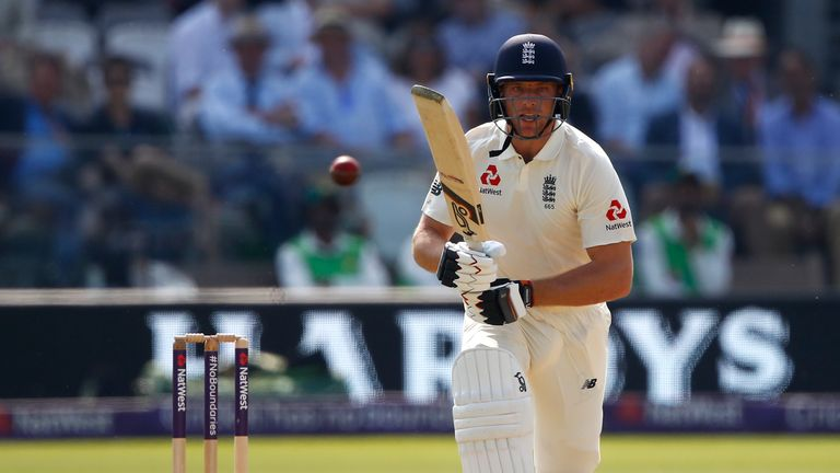 Jos Buttler hit fifty in his first Test in 18 months for England