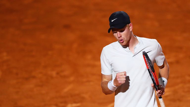 Kyle Edmund defeated Lucas Pouille with an impressive display at Foro Italico