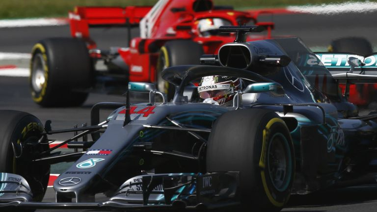 Hamilton off the pace in Belgian GP practice