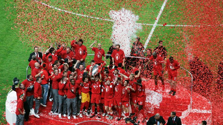 Liverpool enjoyed a memorable night in Istanbul in 2005