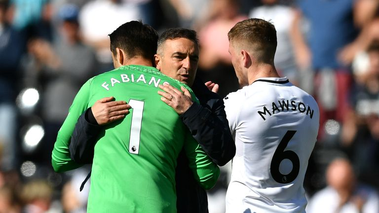 Swansea were relegated to the Championship after losing their last five games of the season