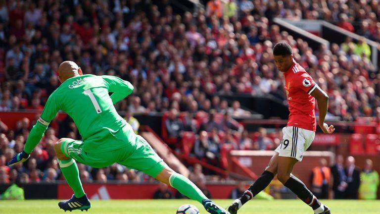 Marcus Rashford scored the game's only goal