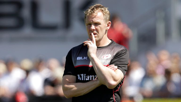Mark McCall has been at Saracens since 2009
