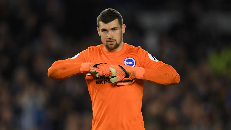 Mat Ryan kept 10 clean sheets as Brighton finished 15th in the Premier League with 40 points
