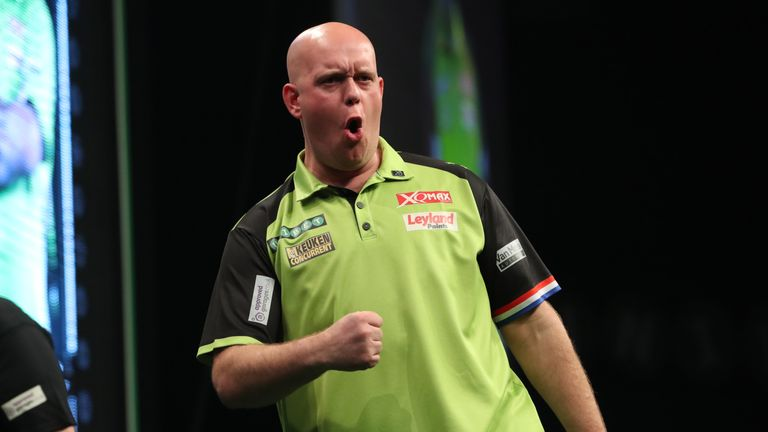 Van Gerwen has enjoyed another dominant campaign